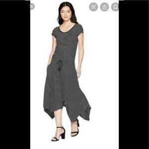 NWT Lauren Ralph Lauren striped handkerchief dress